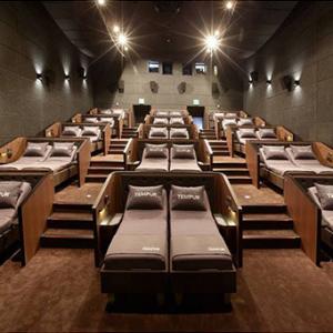 CJ CGV, 세계 최초 리클라이닝 침대 극장 '템퍼 시네마' 오픈