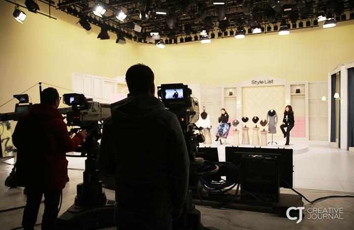 CJ오쇼핑 스튜디오는 24시간 잠들지 않습니다