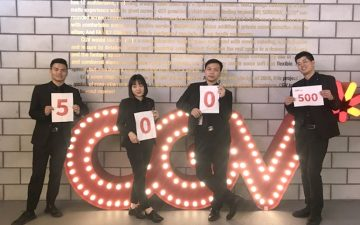 CGV, 국내외 통합 500호점 돌파! 한국형 컬처플렉스 확산
