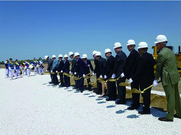 2012년 CJ제일제당 미국 아이오와주 그린바이오공장 건설