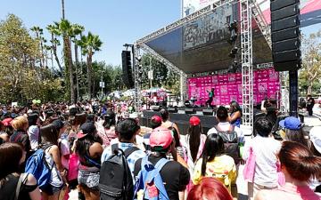글로벌 컬처의 중심 미국에 '케이컬처' 깃발 꽂았다! '케이콘(KCON) 2013 in LA' 성료!