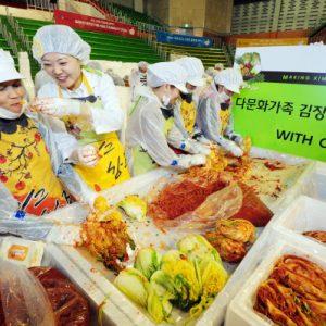 [취재] 2012년 CJ그룹 '사랑의 김장 봉사활동'