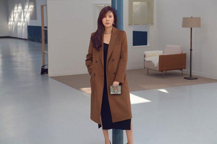 셀렙샵 에디션 겨울 프리미엄 코트_모델 김하늘