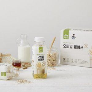 CJ ENM 오쇼핑부문, 간편대용식 도전장 '오하루 자연가득 오트밀 쉐이크' 론칭