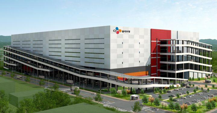CJ올리브영 양지 수도권 통합물류센터 조감도