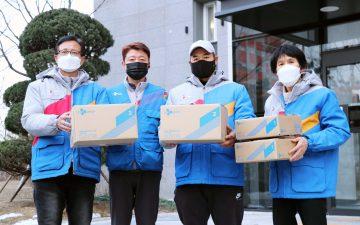 CJ대한통운, 청각장애인 맞춤형 일자리 '블루택배' 론칭