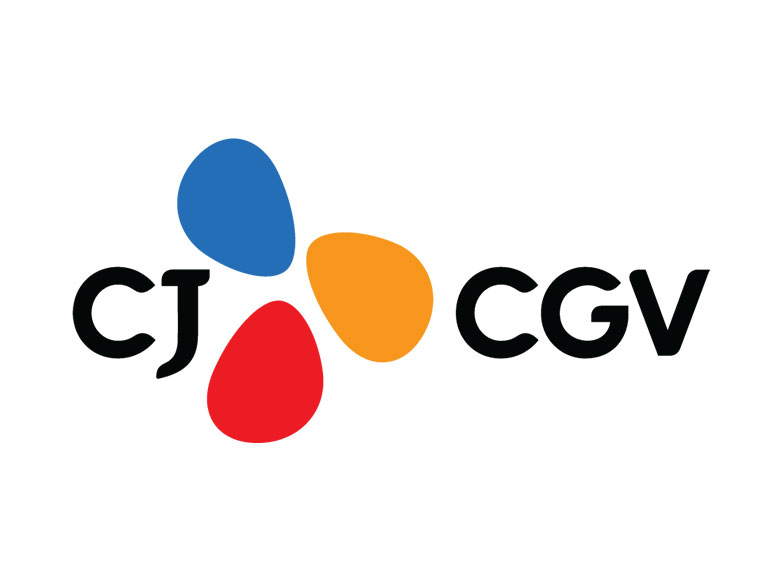 CJ CGV, 2020년매출 5,834억원… 전년 동기 대비 70% 하락 보도자료에 삽입된 CJ CGV 로고다.