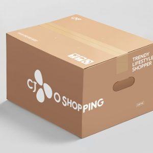 CJ오쇼핑, 홈쇼핑 최초 '착한 손잡이' 배송 박스 사용으로 ESG 경영 확대