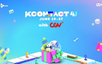 CGV, 세계 최대 K-컬쳐 페스티벌 'KCON:TACT 4 U' 극장 생중계