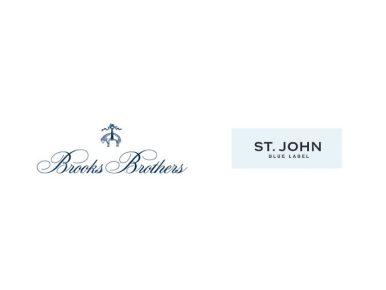 CJ온스타일이 해외 대형 브랜드를 영입하며 올해 하반기 패션·뷰티 포트폴리오를 대폭 강화한다. 사진은 브룩스브라더스(왼쪽)와 센존 블루라벨 브랜드 로고