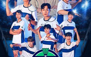 tvN '라켓보이즈', 유니폼 깔맞춤 완벽 장착! '에너지 만렙' 완전체 공식 포스터 공개